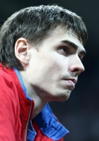 Yaroslav Rybakov. Silver medallist at World Indoor Championships 2010. Doha