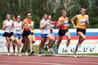 Valentin Smirnov. Russian Champion 2011. Final at 1500m