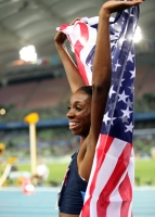 Lashinda Demus. World Champion 2011 (Daegu) at 400h