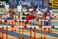 Dayron Robles. World Indoor Championships 2011 (Dokha)