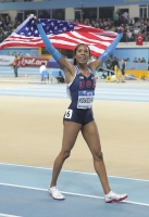 Sanya Richards-Ross. 400 m World Indoor Champion 2012 (Istanbul)