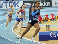 Sanya Richards-Ross. 4 x 400 m World Indoor Silver Medallist 2012 (Istanbul)