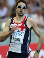 Martyn Rooney. World Championships 2009 (Berlin)