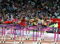 Dayron Robles. 110 m hurdles 8th at Olympic Games 2012