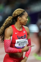 Sanya Richards-Ross. 400 Metres Olympic 2012 Champion, London