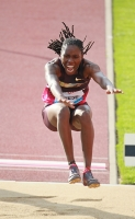Brittney Reese. Lausanne, SUI. Athletissima