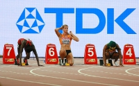 Dafne Schippers. 100 m World Championships Silver Medall