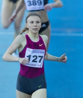 Yekaterina Renzhina. Russian Indoor Champion 2017
