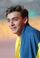 Armand Duplantis. World Championships Silver Medallist